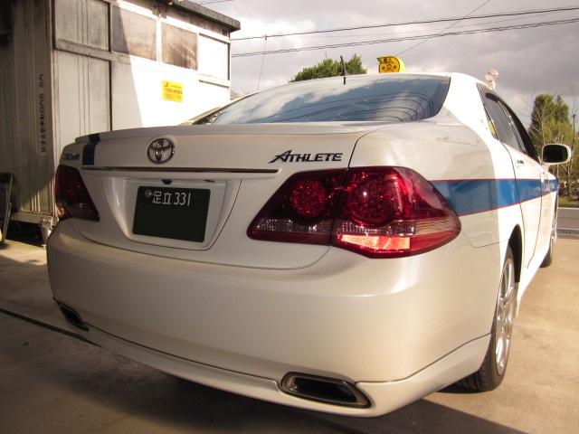トヨタ GRS200 クラウンタクシー ATF圧送式交換 過走行 36万キロ WAKO'S ATF S-S