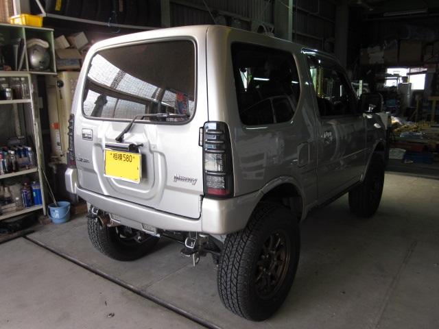 スズキ JB23W ジムニー 新車 ATF圧送式交換 NUETC ZZ-51改