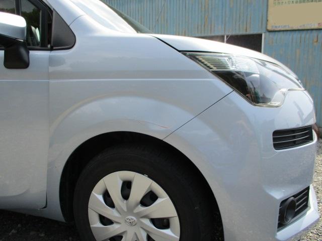トヨタ スペイド フェンダー 板金修理