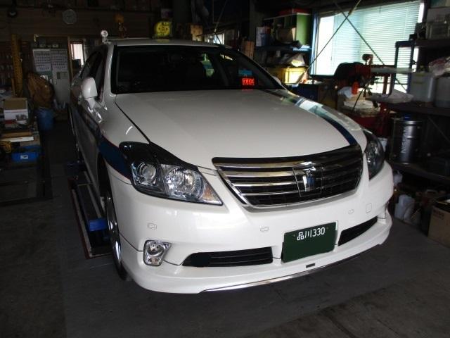 トヨタ GW204 クラウンハイブリッドタクシー 加走行20.3万キロ ATF交換 NUTEC NC-65