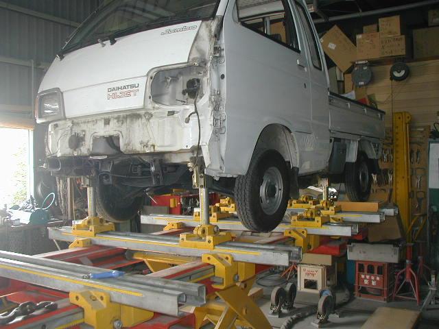 スパネーゼ グローバルジグ フレーム修正機