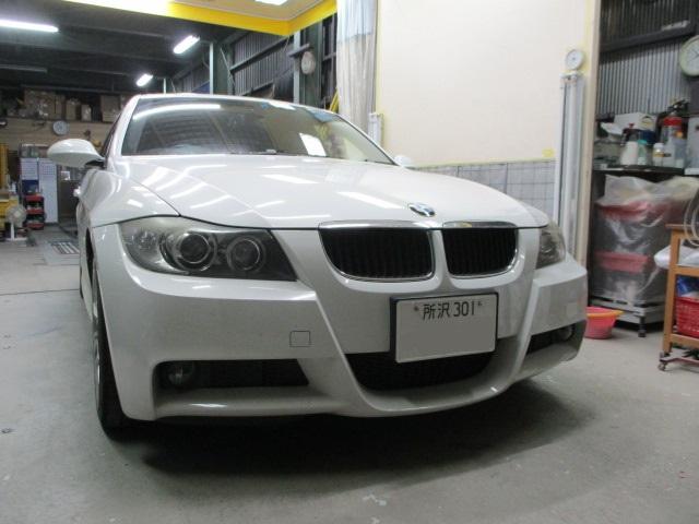 BMW 320 3_SERIES E91 オイル漏れ